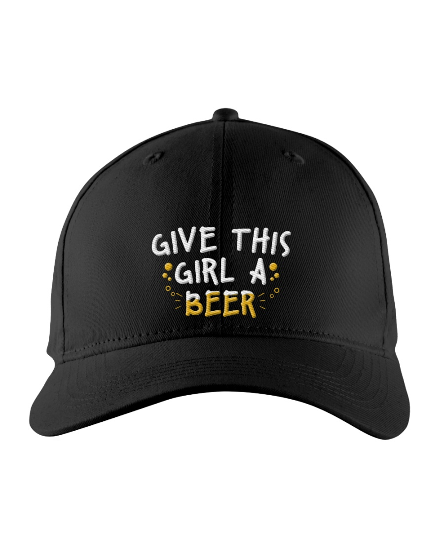 GIVE THIS GIRL A BEER Embroidered Hat
