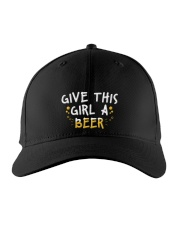 GIVE THIS GIRL A BEER Embroidered Hat front
