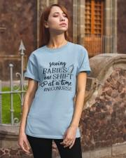Saving Babies Nicu Nurse Classic T-Shirt apparel-classic-tshirt-lifestyle-06