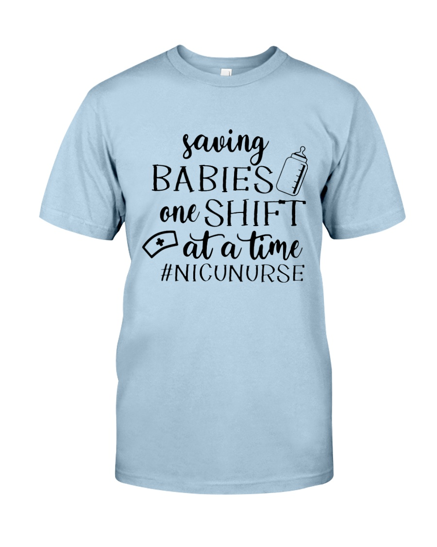 Saving Babies Nicu Nurse Classic T-Shirt