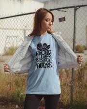 Nacho Average Nurse Classic T-Shirt apparel-classic-tshirt-lifestyle-07