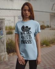 Nacho Average Nurse Classic T-Shirt apparel-classic-tshirt-lifestyle-18