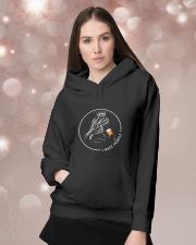 I hate people Hooded Sweatshirt lifestyle-holiday-hoodie-front-1