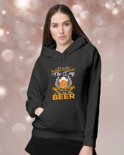 It's a lot easier to start the day when you know Hooded Sweatshirt lifestyle-holiday-hoodie-front-1