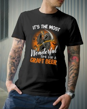 IT'S THE MOST WONDERFUL TIME FOR A CRAFT BEER Classic T-Shirt lifestyle-mens-crewneck-front-6