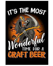IT'S THE MOST WONDERFUL TIME FOR A CRAFT BEER 11x17 Poster thumbnail