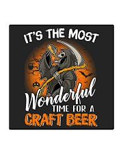 IT'S THE MOST WONDERFUL TIME FOR A CRAFT BEER Square Coaster thumbnail