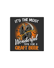IT'S THE MOST WONDERFUL TIME FOR A CRAFT BEER Square Magnet thumbnail