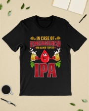 My bood type is IPA Classic T-Shirt lifestyle-mens-crewneck-front-19