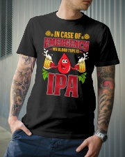 My bood type is IPA Classic T-Shirt lifestyle-mens-crewneck-front-6