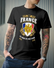 France it's where my story began Classic T-Shirt lifestyle-mens-crewneck-front-6