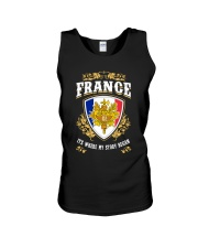 France it's where my story began Unisex Tank thumbnail