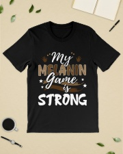 My melanin game is strong Classic T-Shirt lifestyle-mens-crewneck-front-19