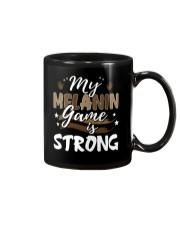 My melanin game is strong Mug thumbnail