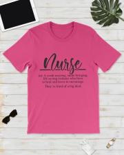 Nurse Definition Classic T-Shirt lifestyle-mens-crewneck-front-17
