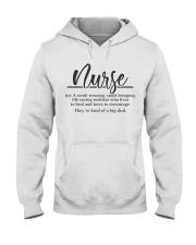 Nurse Definition Hooded Sweatshirt thumbnail
