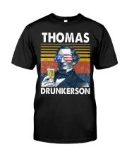 Thomas Drunkerson Classic T-Shirt front