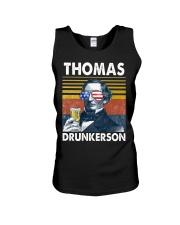 Thomas Drunkerson Unisex Tank thumbnail