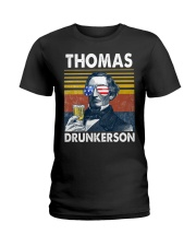 Thomas Drunkerson Ladies T-Shirt thumbnail