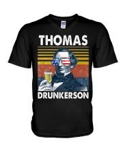 Thomas Drunkerson V-Neck T-Shirt thumbnail