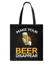 BEER DISAPPEAR Tote Bag thumbnail