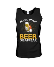 BEER DISAPPEAR Unisex Tank thumbnail