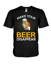 BEER DISAPPEAR V-Neck T-Shirt thumbnail
