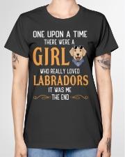 Labrador Girl Ladies T-Shirt garment-tshirt-ladies-front-01
