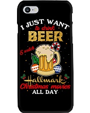I JUST WANT TO DRINK BEER Phone Case thumbnail
