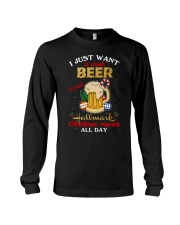 I JUST WANT TO DRINK BEER Long Sleeve Tee thumbnail