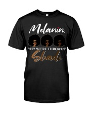 Melanin Shade Classic T-Shirt front