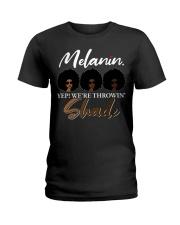 Melanin Shade Ladies T-Shirt thumbnail