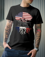 Never underestimate an old man US FRE Classic T-Shirt lifestyle-mens-crewneck-front-6