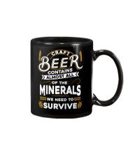 CRAFT BEER CONTAINS ALMOST ALL OF THE MINERALS Mug thumbnail
