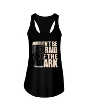 Don't be afraid of the dark Ladies Flowy Tank thumbnail