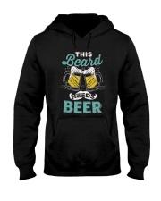 Thi beard needs beer Hooded Sweatshirt thumbnail