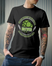 If i can't defend my hops Classic T-Shirt lifestyle-mens-crewneck-front-6