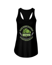 If i can't defend my hops Ladies Flowy Tank thumbnail