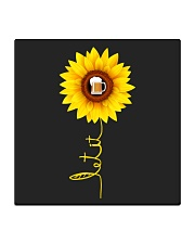 Sunflower Beer Square Coaster thumbnail