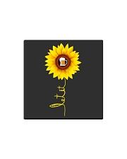 Sunflower Beer Square Magnet thumbnail
