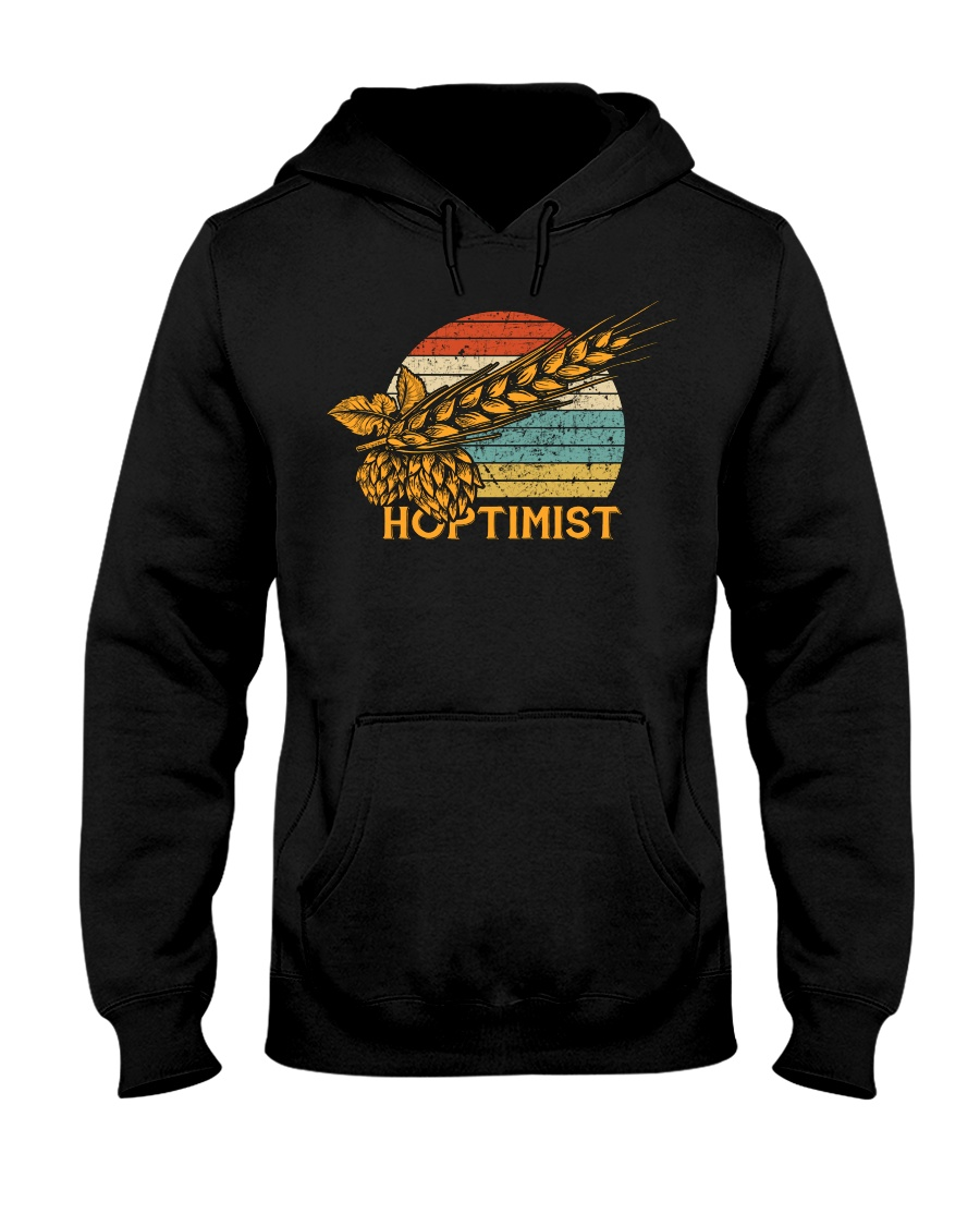 Barley and Hops Hooded Sweatshirt