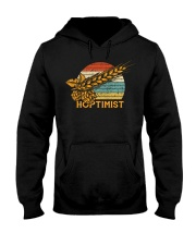 Barley and Hops Hooded Sweatshirt front