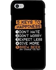 5 KEYS TO HAPPINESS Phone Case thumbnail