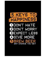 5 KEYS TO HAPPINESS 16x24 Poster thumbnail