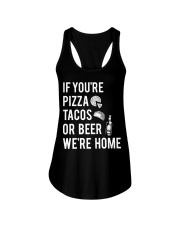If you're pizza tacos Ladies Flowy Tank thumbnail