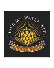 Barley and Hops Square Coaster thumbnail