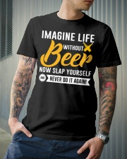 Never do it again Classic T-Shirt lifestyle-mens-crewneck-front-6