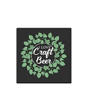 I LOVE CRAFT BEER Square Magnet thumbnail