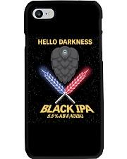 HELLO DARKNESS BLACK IPA Phone Case thumbnail