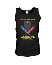 HELLO DARKNESS BLACK IPA Unisex Tank thumbnail